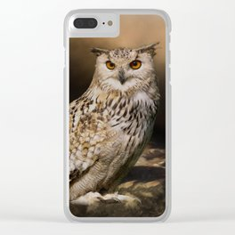 Two Owls Clear iPhone Case
