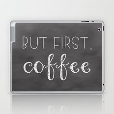 But First, Coffee Laptop & iPad Skin