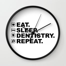 Dentistry Wall Clock