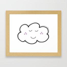Current Mood - Silver Lining Framed Art Print