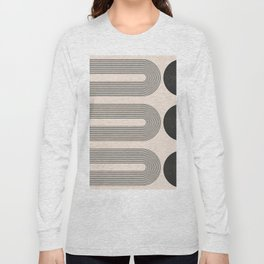 Geometric Abstract 121 Long Sleeve T-shirt