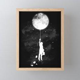 Midnight Traveler Framed Mini Art Print