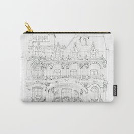 the face of Paris Carry-All Pouch