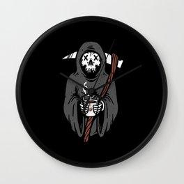 Coffee Reaper Wall Clock