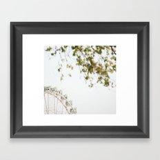 the wheel2 Framed Art Print