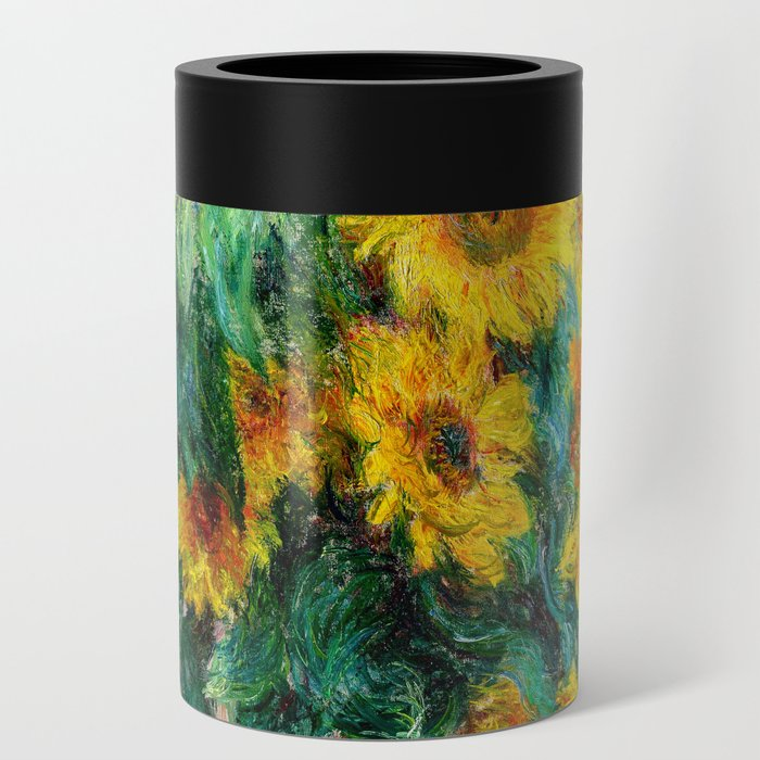 Bouquet of Sunflowers Can Cooler
