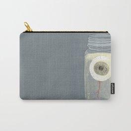 Eyeball in Mason Jar Carry-All Pouch