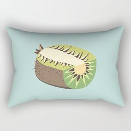 Kiwi illustration Rectangular Pillow