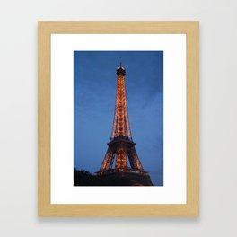 The City of Lights Framed Art Print