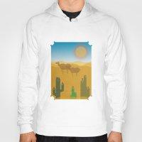 desert Hoodies featuring Desert by Loop in the mind