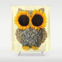 Hoot! Day Owl! Shower Curtain