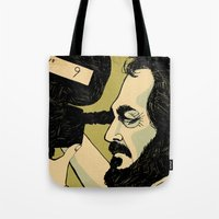 kubrick Tote Bags featuring kubrick by Le Butthead