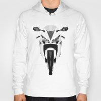 honda Hoodies featuring Honda Motorcycle by SABIRO DESIGN