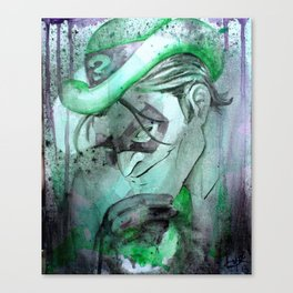 Riddle me this Riddle me that Canvas Print