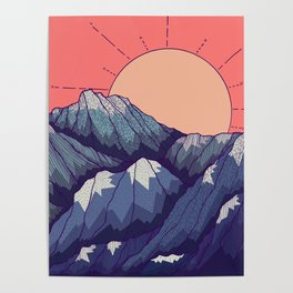 An early morning view Poster