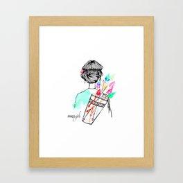 MICI Girls March issue 2016 Framed Art Print