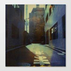 Tokyo Lane Polaroid Canvas Print