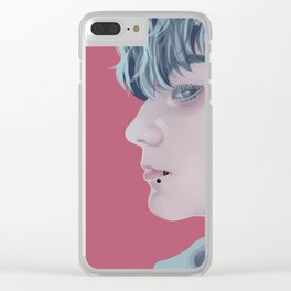 Cain [Original] Clear iPhone Case