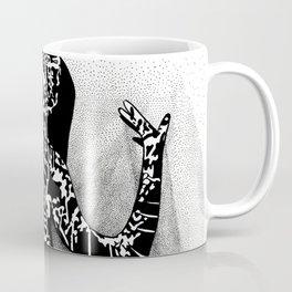 Girl In Shadow Coffee Mug