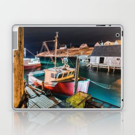 Peggy's Cove by Night Laptop & iPad Skin