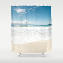 The Voice of Water Shower Curtain