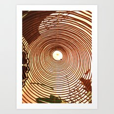 Incense Rings Art Print