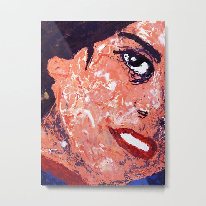 Roberta - Detail Metal Print