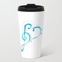 music love Travel Mug