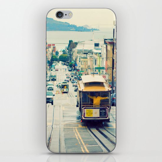 San Francisco Cable Car iPhone & iPod Skin
