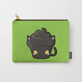 Spooky Cupcake - Black Cat Carry-All Pouch