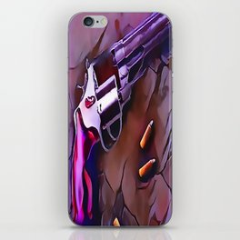 The Wheel Gun iPhone Skin