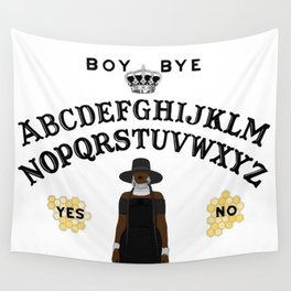 Queen Bey Ouija Board Wall Tapestry