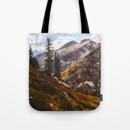 Alpine Autumn Tote Bag
