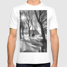 After The Storm, Together MEDIUM White Mens Fitted Tee