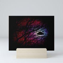 1-2-3 ufo Mini Art Print