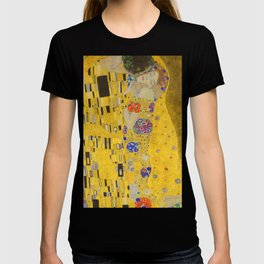 Gustav Klimt The Kiss Detail T-shirt