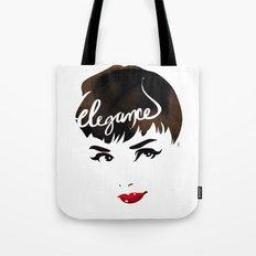 Bombshell Series: Elegance - Audrey Hepburn Tote Bag