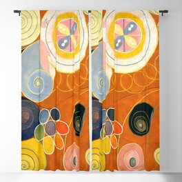 """Hilma af Klint """"The Ten Largest, No. 03, Youth, Group IV"""" Blackout Curtain"""