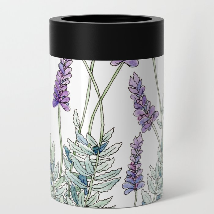 Lavender, Illustration Can Cooler