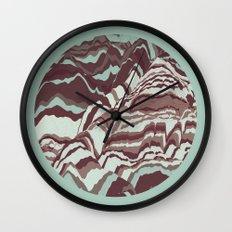 TOPOGRAPHY 002 Wall Clock