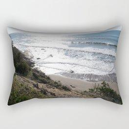 Ocean light II Rectangular Pillow