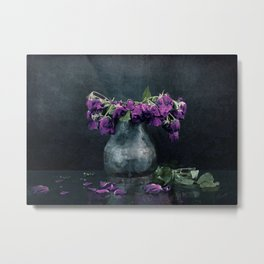 It Started With A Flower Metal Print