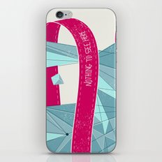 Nothing To See Here. iPhone & iPod Skin