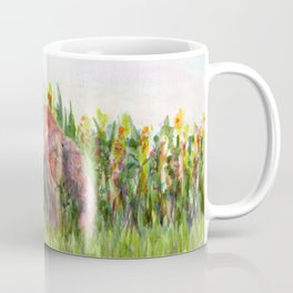 Fabulous Ms Fox. From watercolor painting by Pamela Parsons Coffee Mug