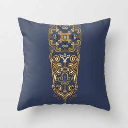 Cordoba mosaic 7 Throw Pillow