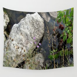 Summer day at the Lake Wall Tapestry