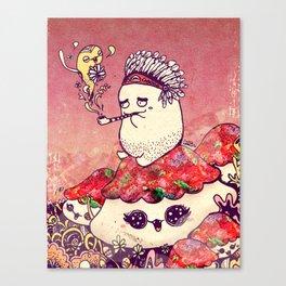 Borish and The Smoking Pipe Canvas Print