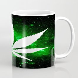 Weed : High Times Green Galaxy Coffee Mug