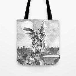 Gargoyle Night Tote Bag