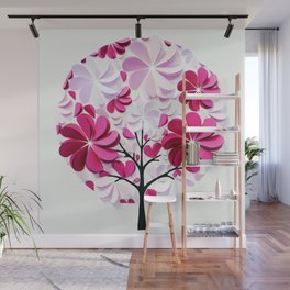 Tree of love Wall Mural